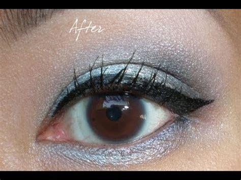 gel eyeliner tutorial youtube how to apply winged gel eyeliner youtube