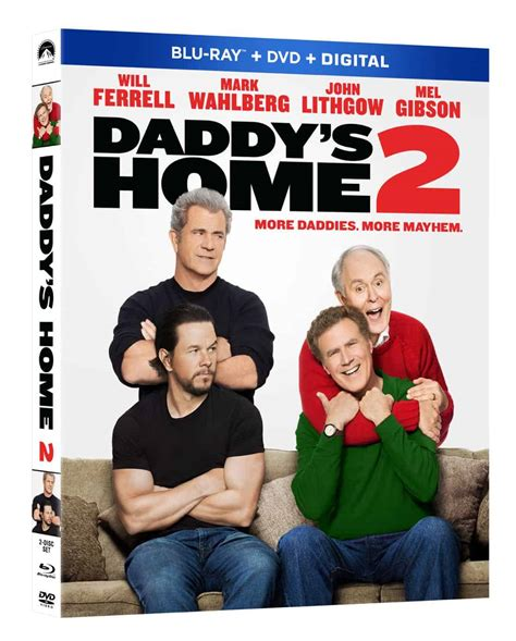 daddy s home 2 blu ray 4k and dvd release details seat42f