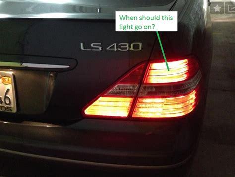 Brake Lights Stay On When Car Is by 2003 Ls430 Parking Brake Light On Clublexus Lexus
