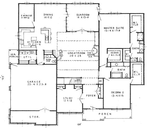 150 sq ft house plans colonial style house plan 2 beds 2 5 baths 2690 sq ft