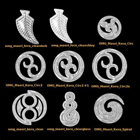Maori Symbole by Maori Symbols Motifs Glass Brushes Gimp Chat