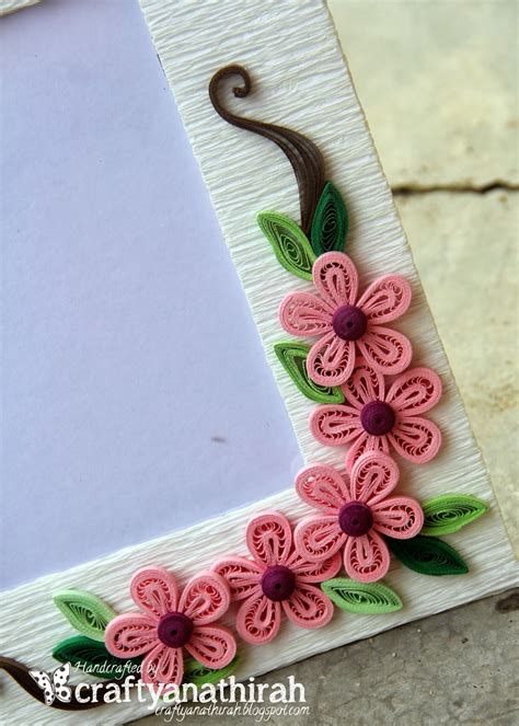 Handmade Picture Frames - craftyanathirah simply handmade frames