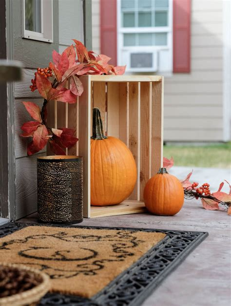 wooden fall decor 14 best rustic fall decor and design ideas for 2018