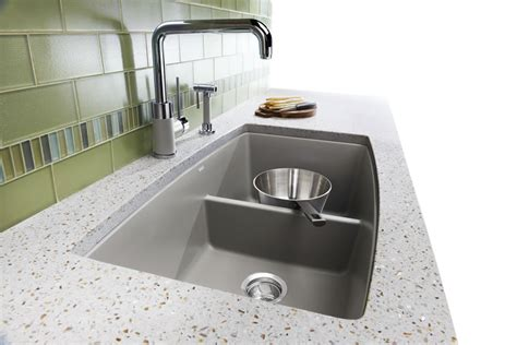 Kitchen With Two Sinks How To Choose A Kitchen Sink Stainless Steel Undermount Drop In Kitchen Sinks
