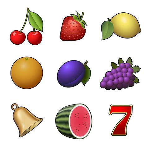 slot machine fruit symbols digital art  miroslav nemecek