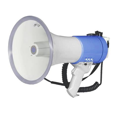 Handgrip Megaphone 25w Megaphone With Built Siren Whistle Grip Type