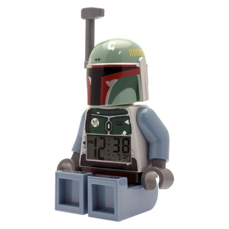 boba fett minifigure clock 5000249 boba fett fan club
