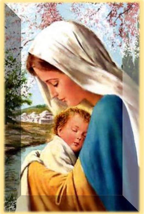 imagenes de la virgen maria y su hijo memorias 24 virgen mar 237 a reina