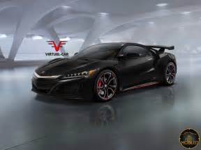 Honda Nsx R What About This New Acura Honda Nsx Type R Render