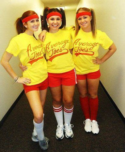 group costumes average joes dodgeball  adorbs