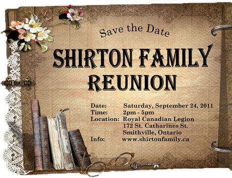 robinson family reunion letter social in tolpix