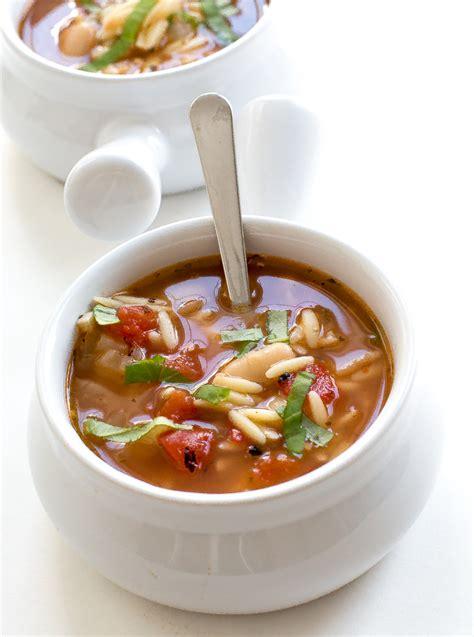 italian ham and white bean orzo soup chef savvy