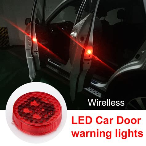blinking red light beats wireless okeen 4pcs led door warning light open signal warning