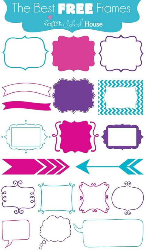 free frames 1000 images about free svg files for cricut on