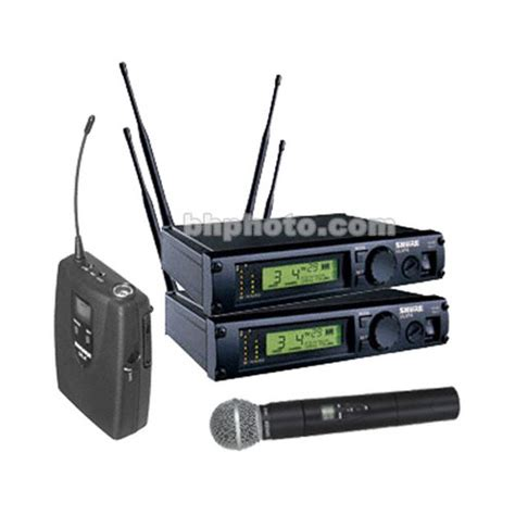 Wireless Microphone Shure Bisa Ubah Frequensi shure ulx professional series wireless dual ulxp124 58