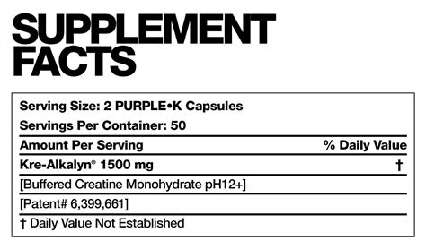 purple k creatine before and after the big three stack fusion 174 performance