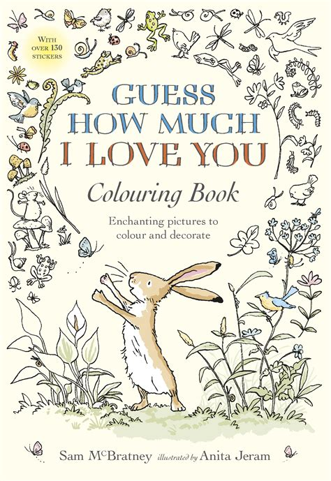 Guess How Much I Love You Colouring Book By Sam Mcbratney Guess How Much I You Coloring Pages