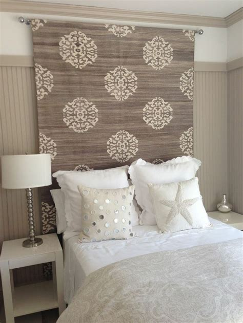 modern bedroom interior decorating with creative headboard