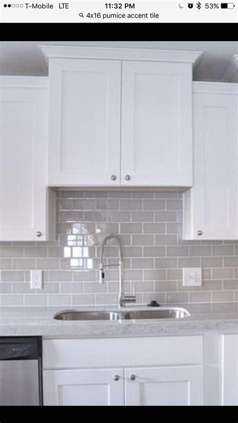 Pumice tile backsplash   New Home: Kitchen   Pinterest