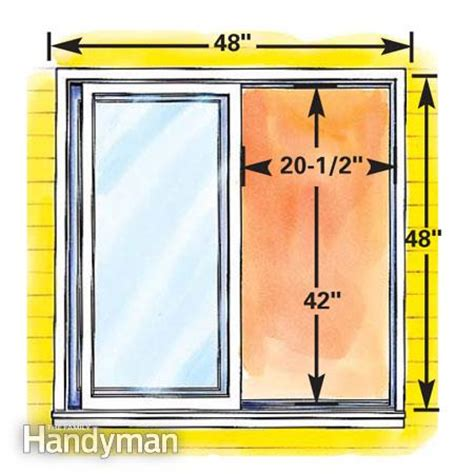 minimum window size for basement bedroom how to plan egress windows the family handyman