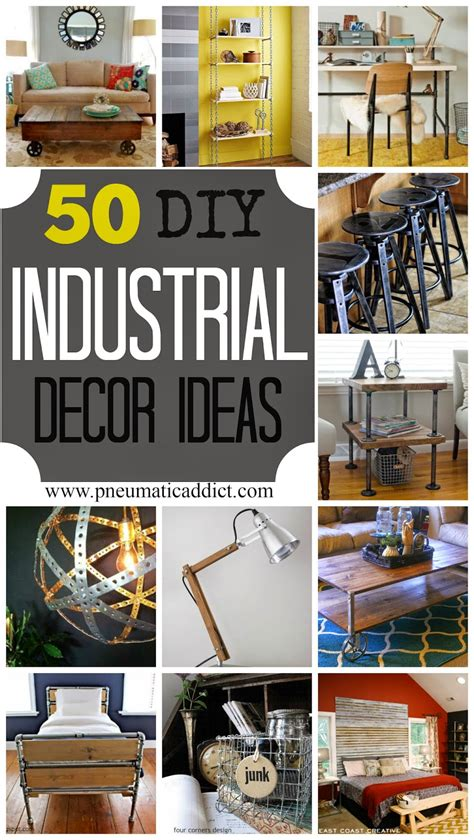 50 diy industrial decor ideas ikea decora