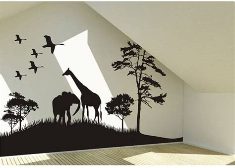 animal stickers for walls best 25 bird wall ideas on