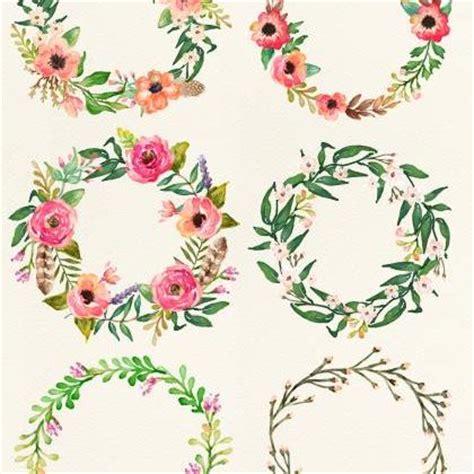 Dress Bunga Tipis watercolor clipart floral frame png wedding bouquet arrangement bouquet digital paper