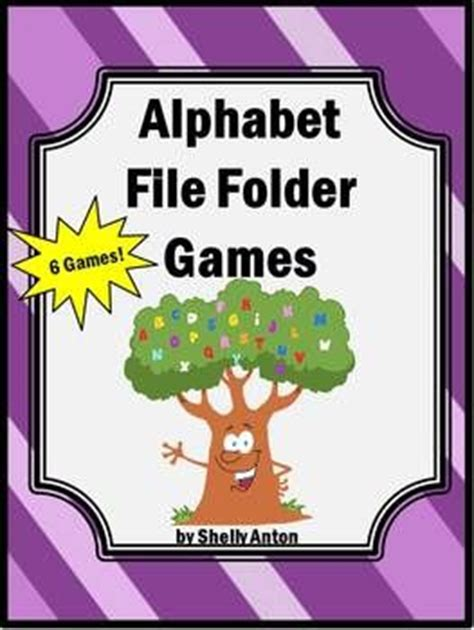 printable file folder games for kindergarten folder games file folder games and file folder on pinterest