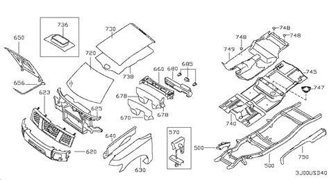 2000 Nissan Frontier Parts by 2000 Nissan Frontier Parts Diagram Automotive Parts