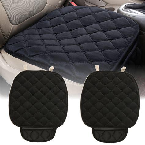 new plush anti slip car seat cover small mat rhombus