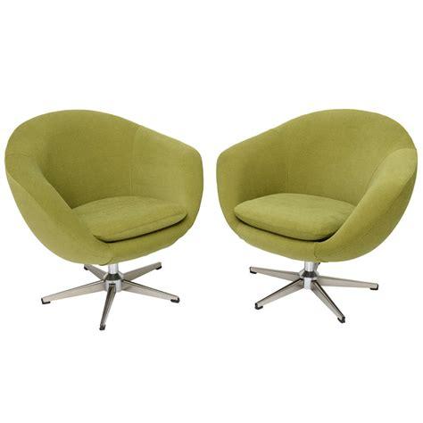 Classic Swedish Overman Swivel Egg Chairs At 1stdibs Swivel Egg Chair