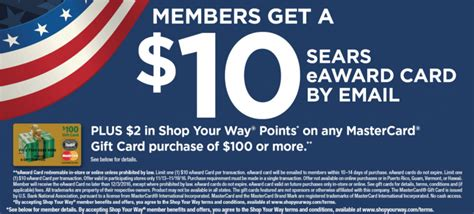 Is It Legal For Gift Cards To Expire - expired sears get 12 credit with 100 mastercard gift card purchase doctor of credit