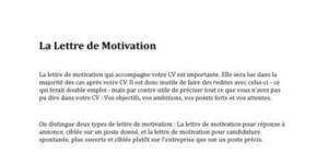 Mod Les Lettre De Motivation Hotesse D Accueil lettre de motivation 1000 mod 232 les gratuits de lettres