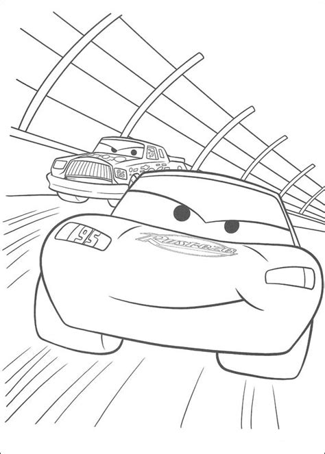 cars coloring pages the king cars rayo mcqueen autos carreras aventuras disney