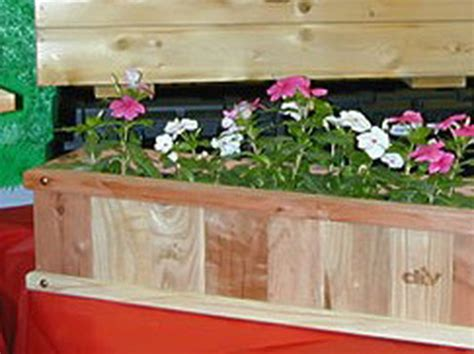 Diy Flower Box Planters by How To Build A Planter Box How Tos Diy