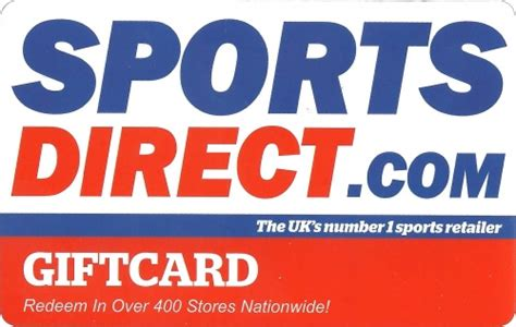 Sports Direct Gift Card - thegiftcardcentre co uk sports direct gift card