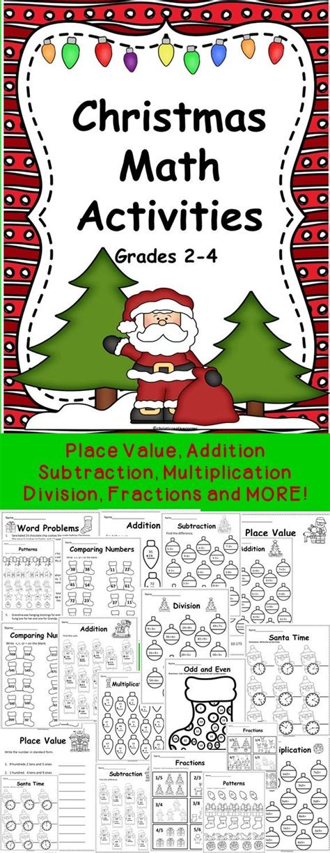 christmas algebra projects 410 best third grade ideas images on reading elementary schools and beginning of school