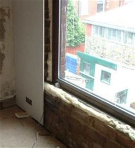 dry lining bathroom walls direct bond plasterboard plastering
