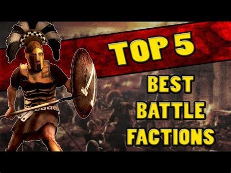 best faction top 5 best factions in total war rome 2 battles