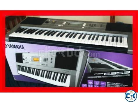 Keyboard Yamaha Psr E 353 New brand new yamaha psr e353 intact clickbd