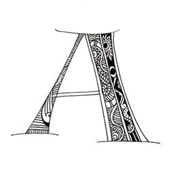 maori inspired alphabet