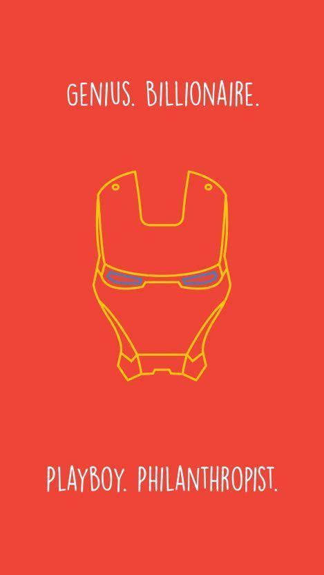 iron man quote minimal iphone wallpaper iphone