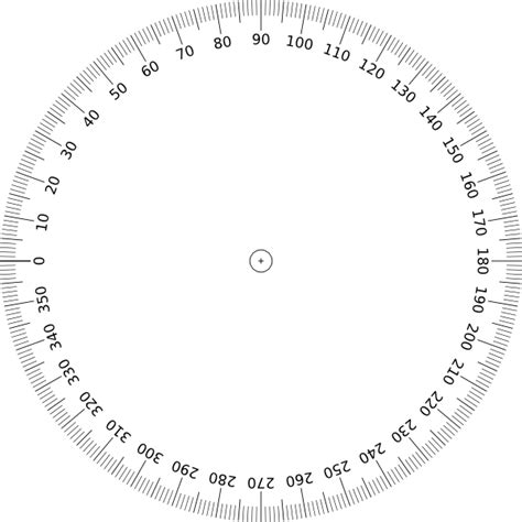 printable point ruler printable full 360 protractor igaging digital angle