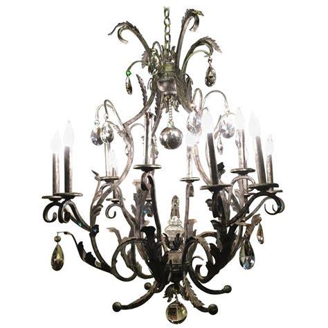rustic metal chandelier palatial silver distressed rustic metal chandelier by schonbek for sale at 1stdibs