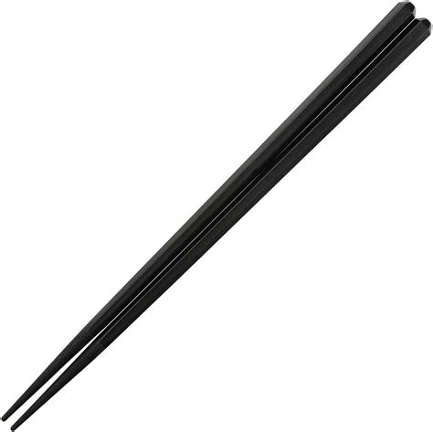 Black Chopstick 10 Pasang plastic eco black hex dishwasher safe japanese chopsticks