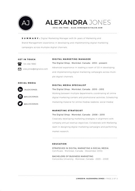 indd resume templates free minimalist resume template in indd ai word format resume
