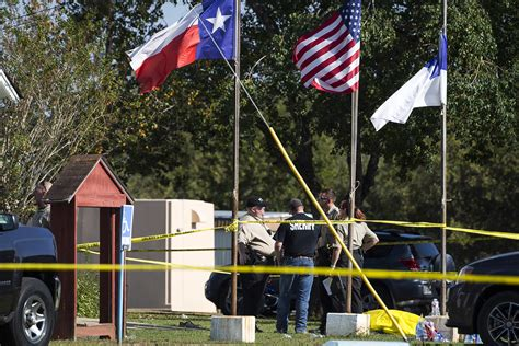 Shooting In Tx 26 Killed In Church Attack In Deadliest Mass