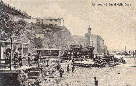 bagni di mare bagni di mare genovaold foto e cartoline di genova antica
