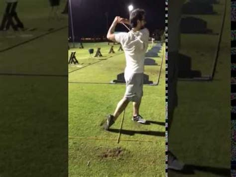 best swing bowling ever golf swing the best shot ever in golf history youtube