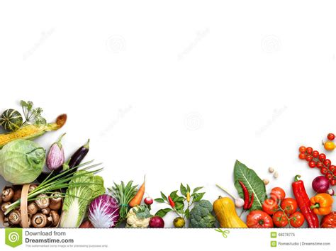 Organic Food Background Food Photography Different Fruits And Vegetables Stock Image Image Of Food Background For Powerpoint